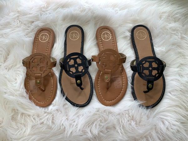 Sadie Medallion Sandals *Final Sale*