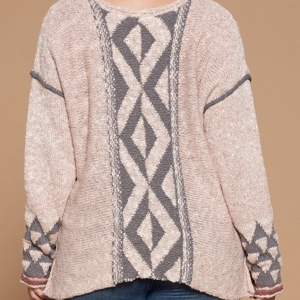 All About The Back Sweater