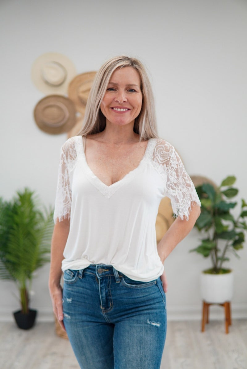 Touch Of Lace Top