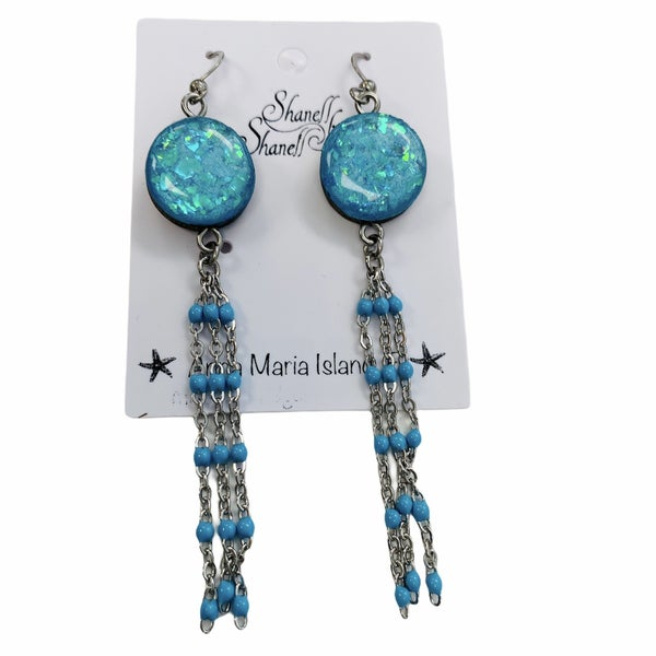 Mermaid Jewel Dangles