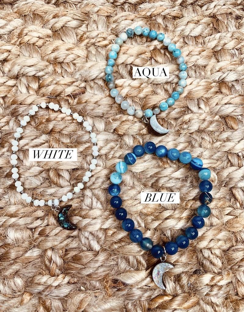 Jewel Moon Stretch Bracelet