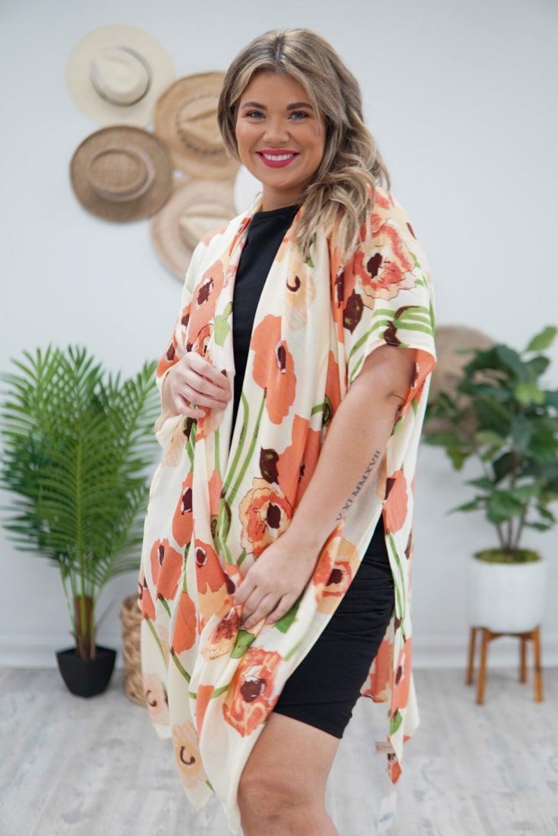 It Just Blooms Kimono