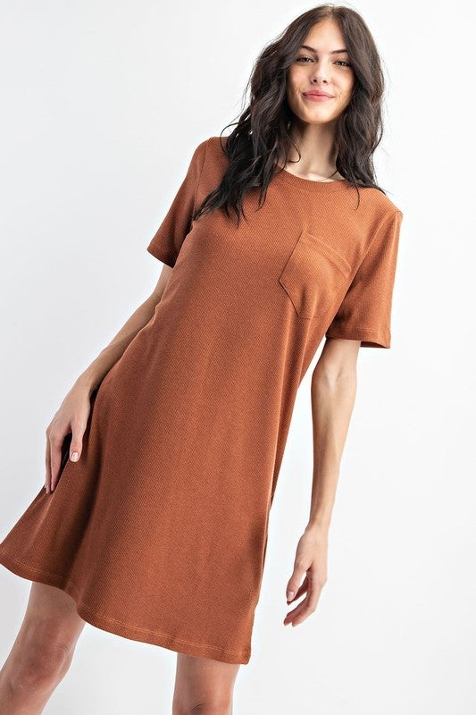 Basic Bae Pocket Dress