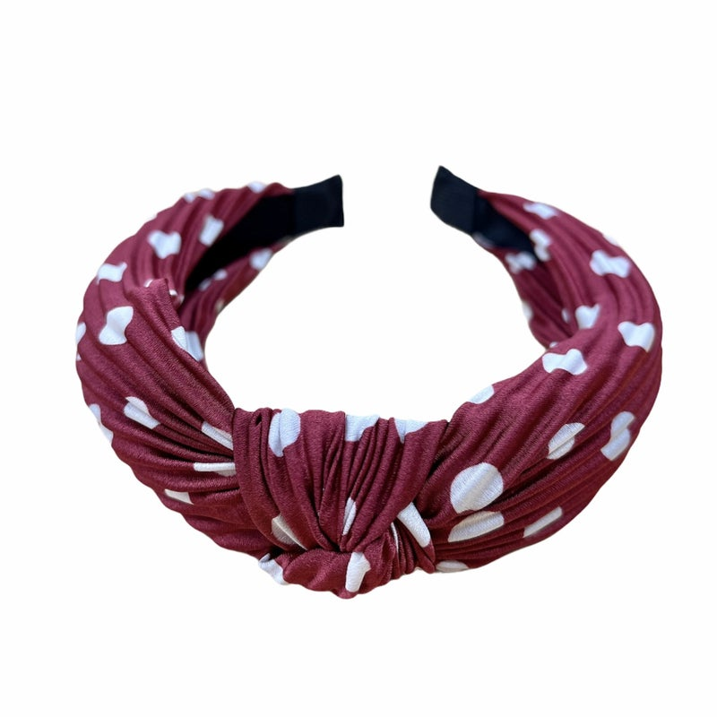 Hip Hop Polka Dot Headband