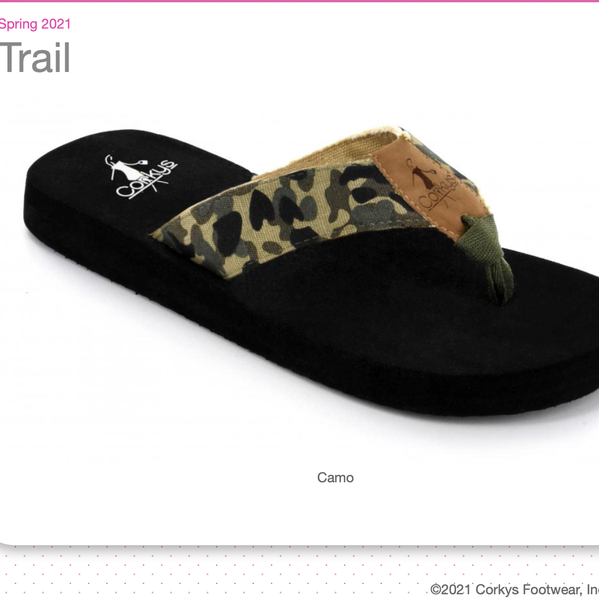 Trail Flip Flops