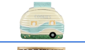 Ceramic Camper Cookie Jar