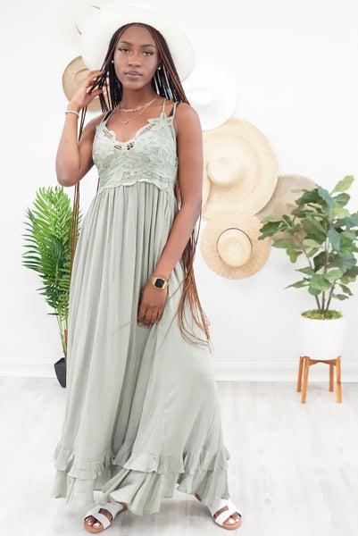 THE Boho Babe Maxi Dress