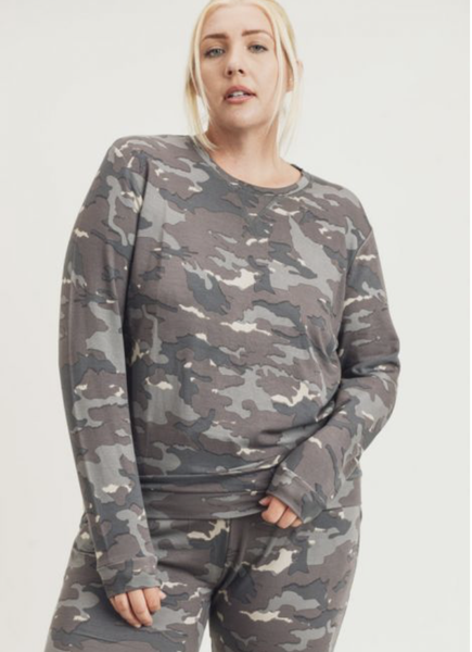 Over This Camo Top