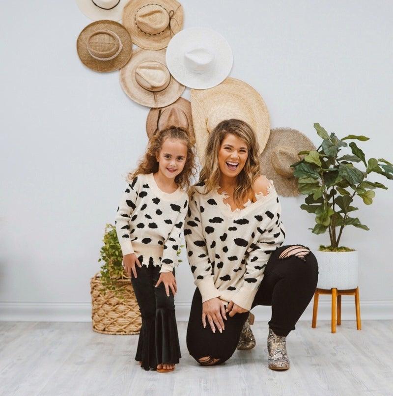 Cookies & Cream Kids Sweater