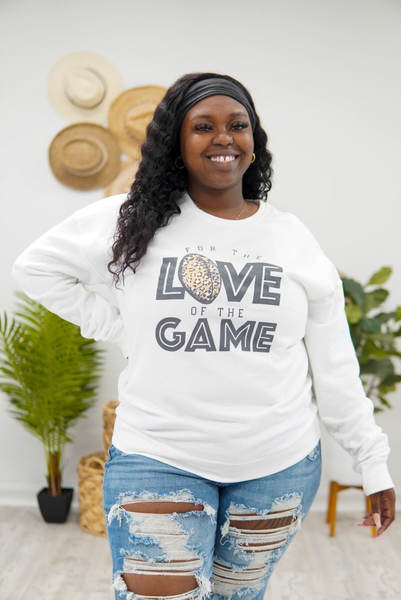 For The Love Of The Game Sweater