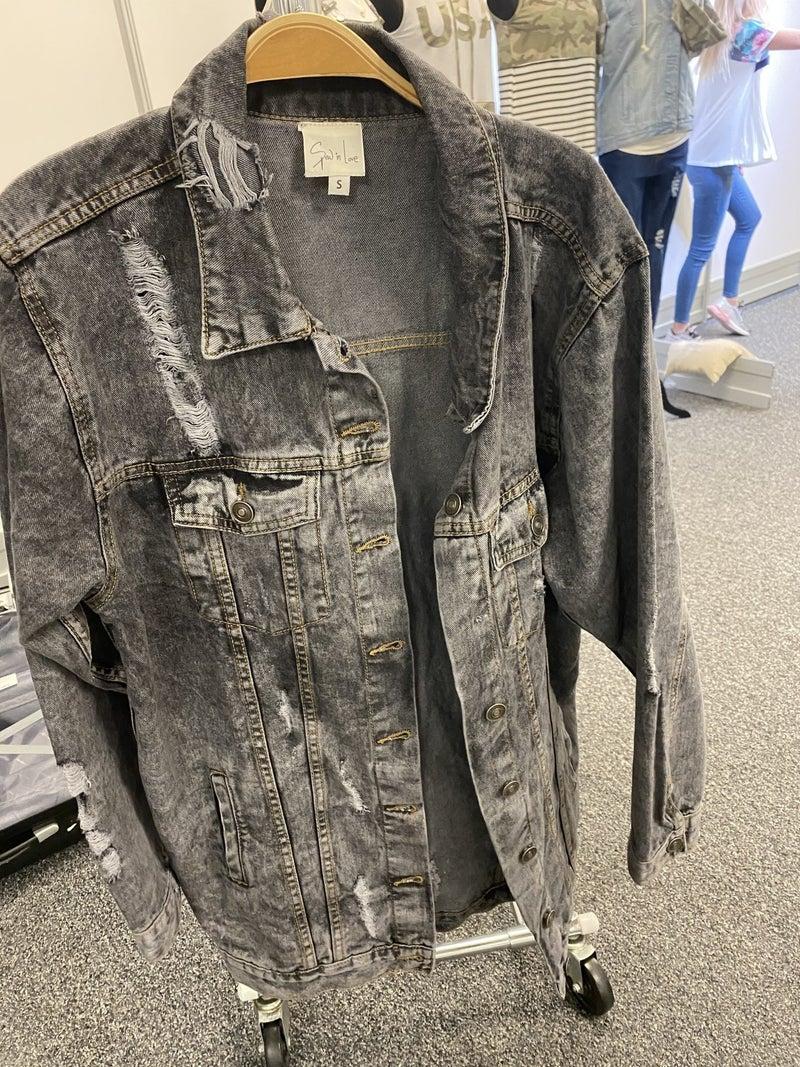 Distressed Rocker Jacket
