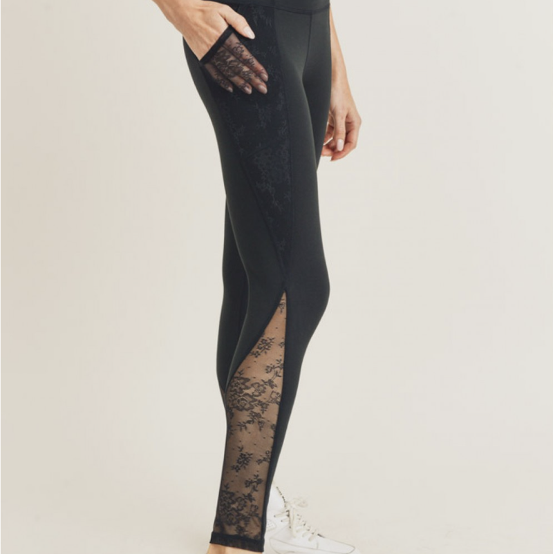 Floral Splice Leggings
