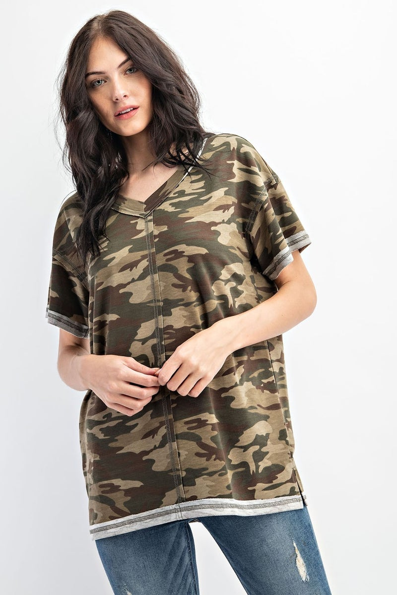 Boot Camp Babe Top