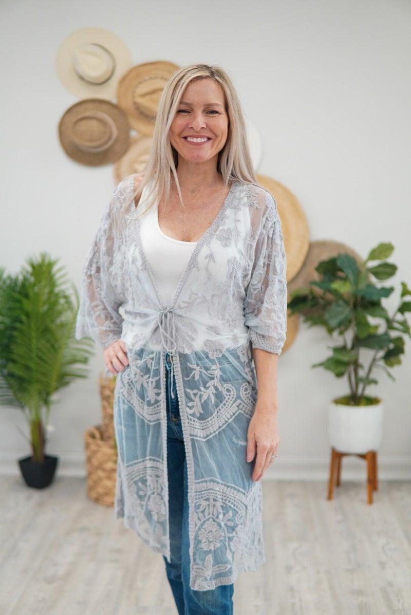 Keep It Lacey Kimono