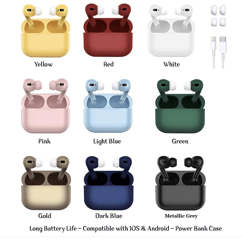 Pro Style Wireless Earbuds