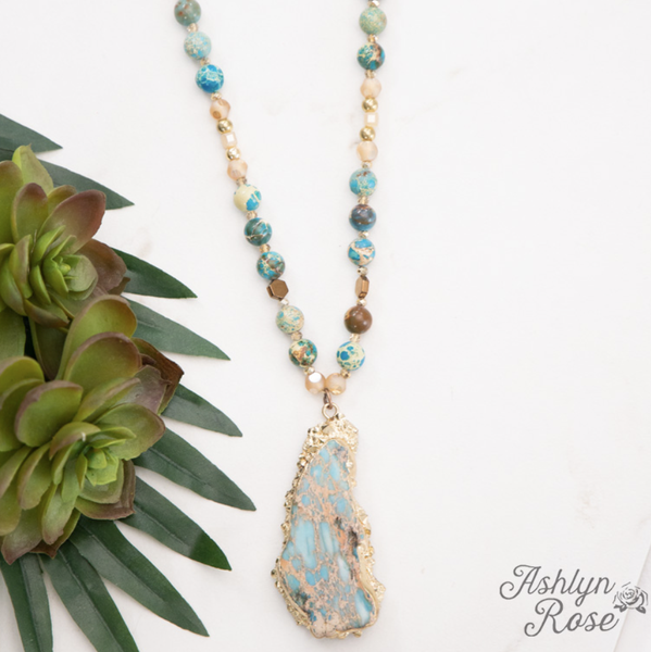 Blue Lagoon Beauty Necklace