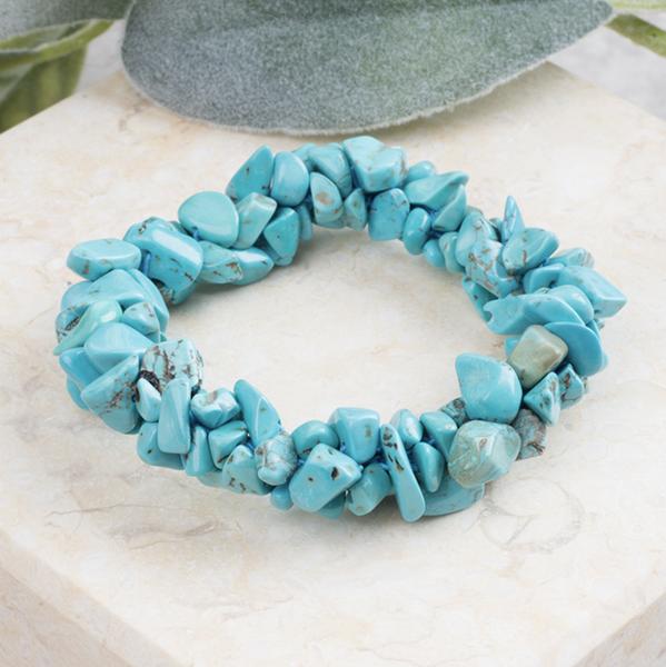 Rock Steady Stone Bracelet