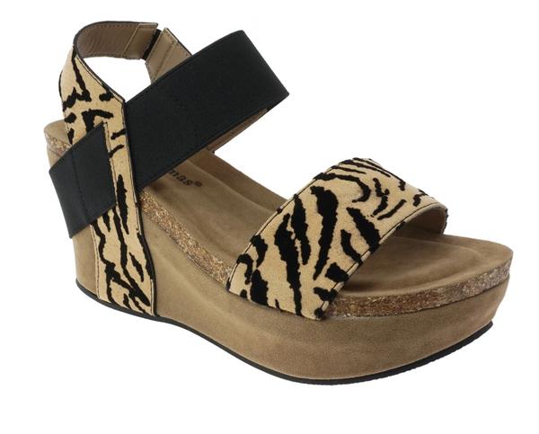 Wild Tiger Strap Sandals