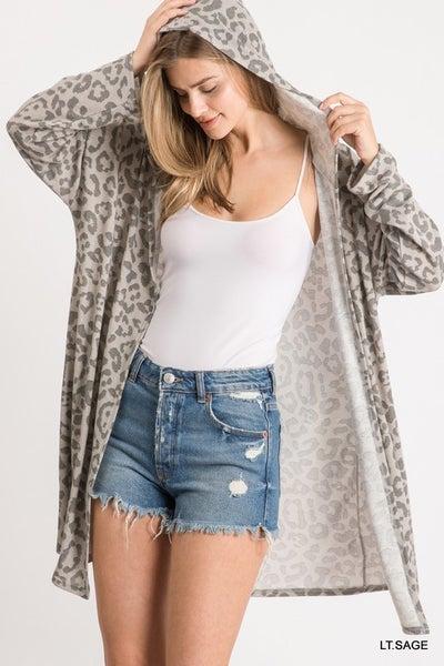 Shred It Up Leopard Cardigan