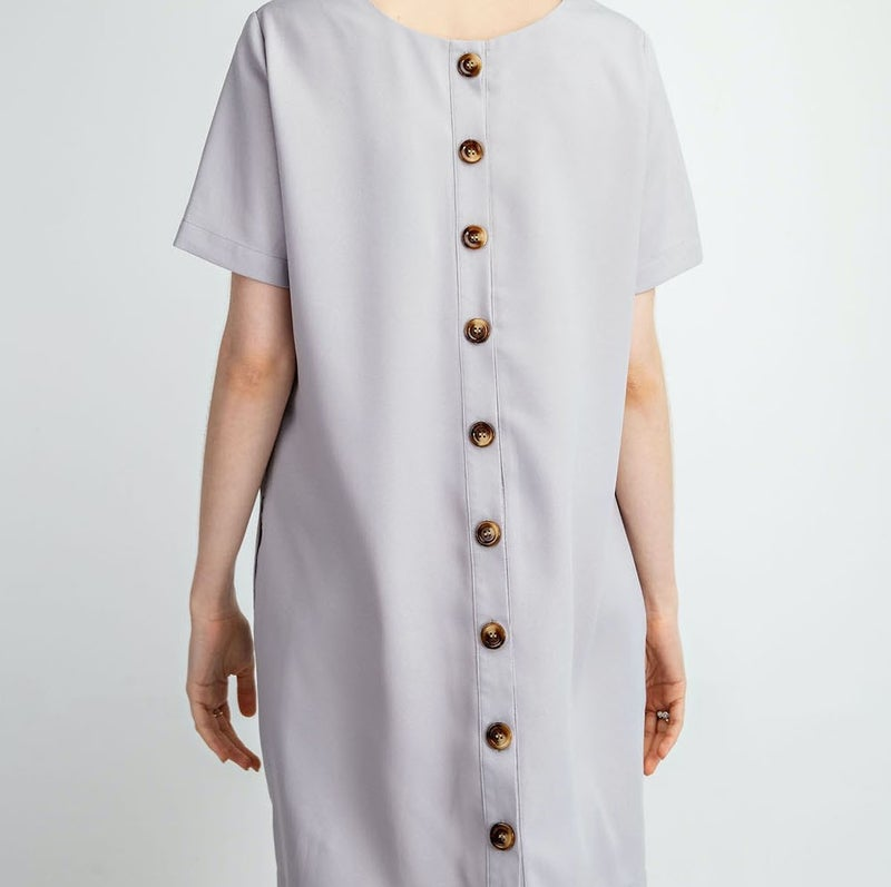 TAKEOVER- Button Back Classic Dress