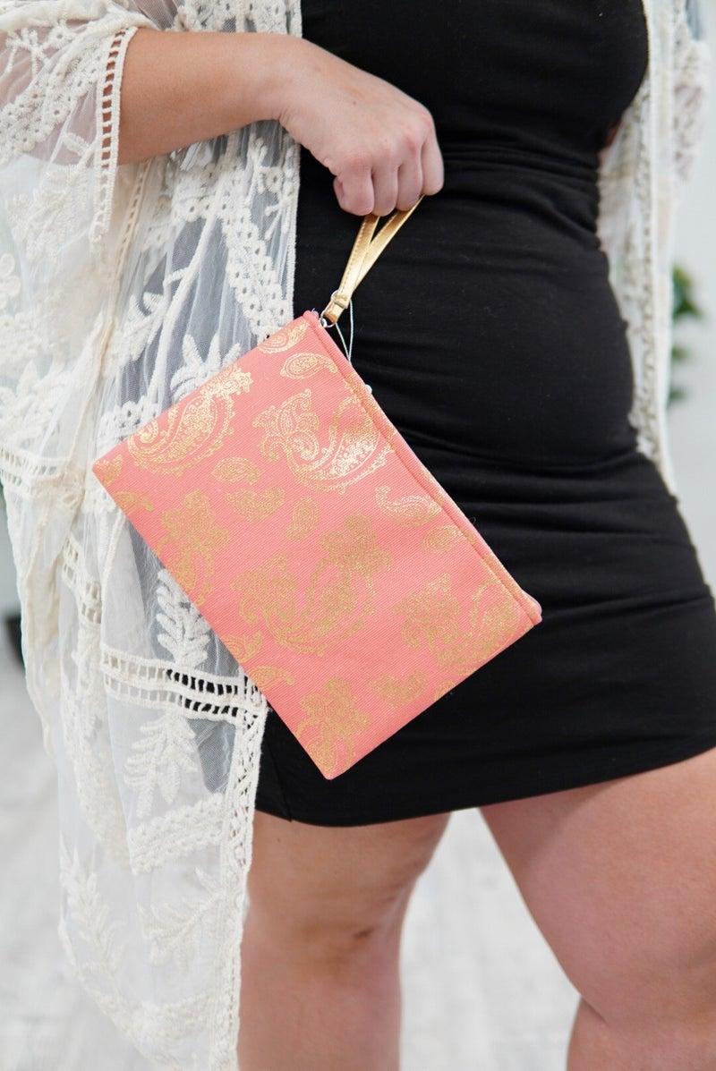 Paisley Cosmetic Bag