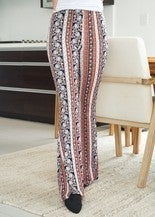 Glam Print Bell Pants