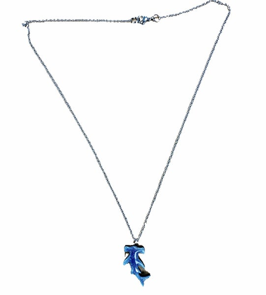 Shimmer Shark Necklace