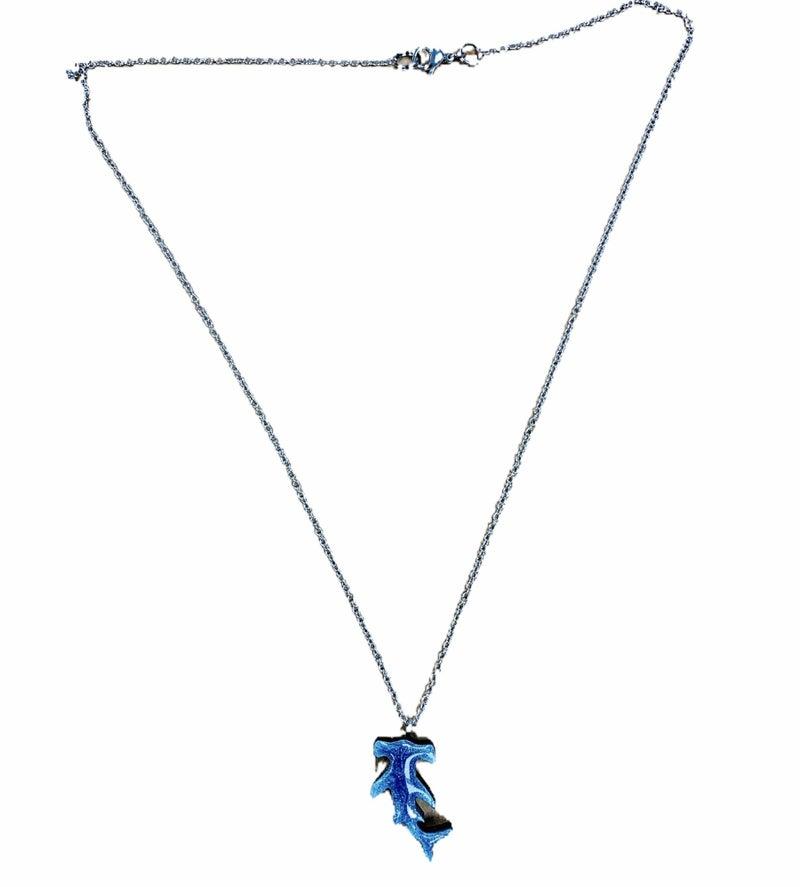 Shimmer Shark Necklace