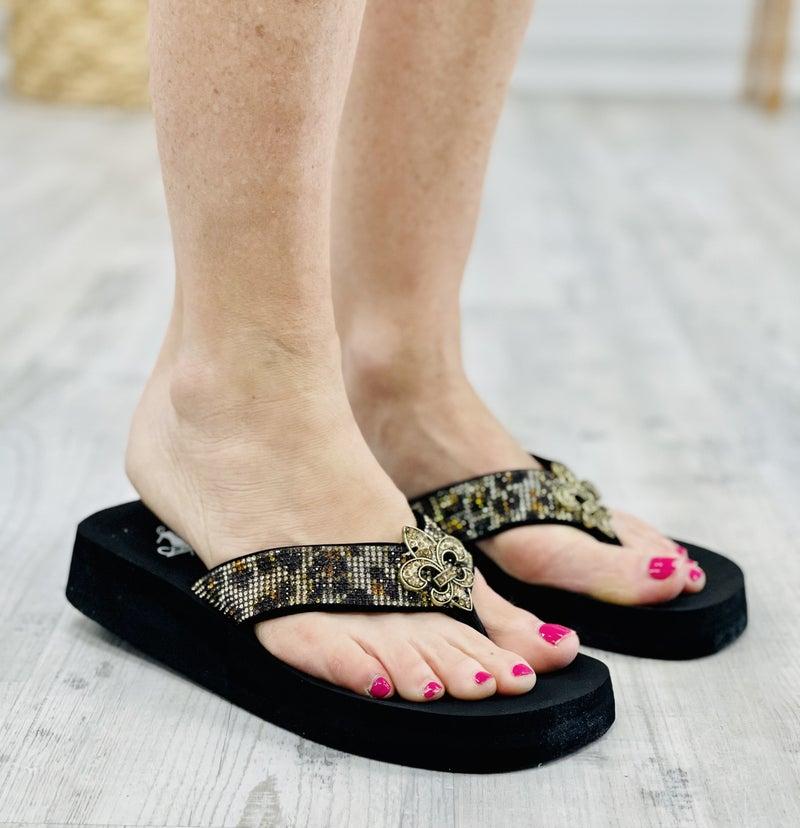 Vanessa Blinged Sandal By Corky