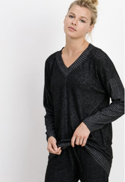 Mixed Up Hacci Sweater