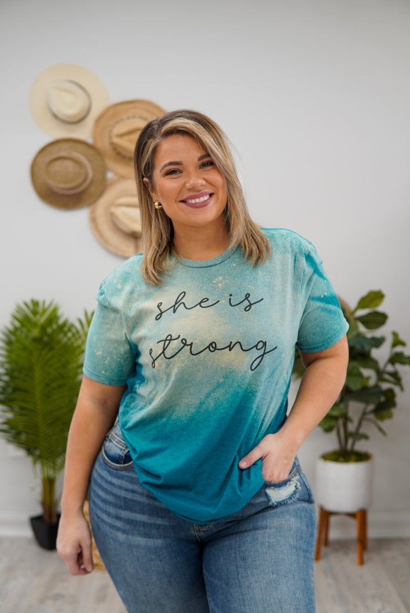She Is Strong Graphic Tee