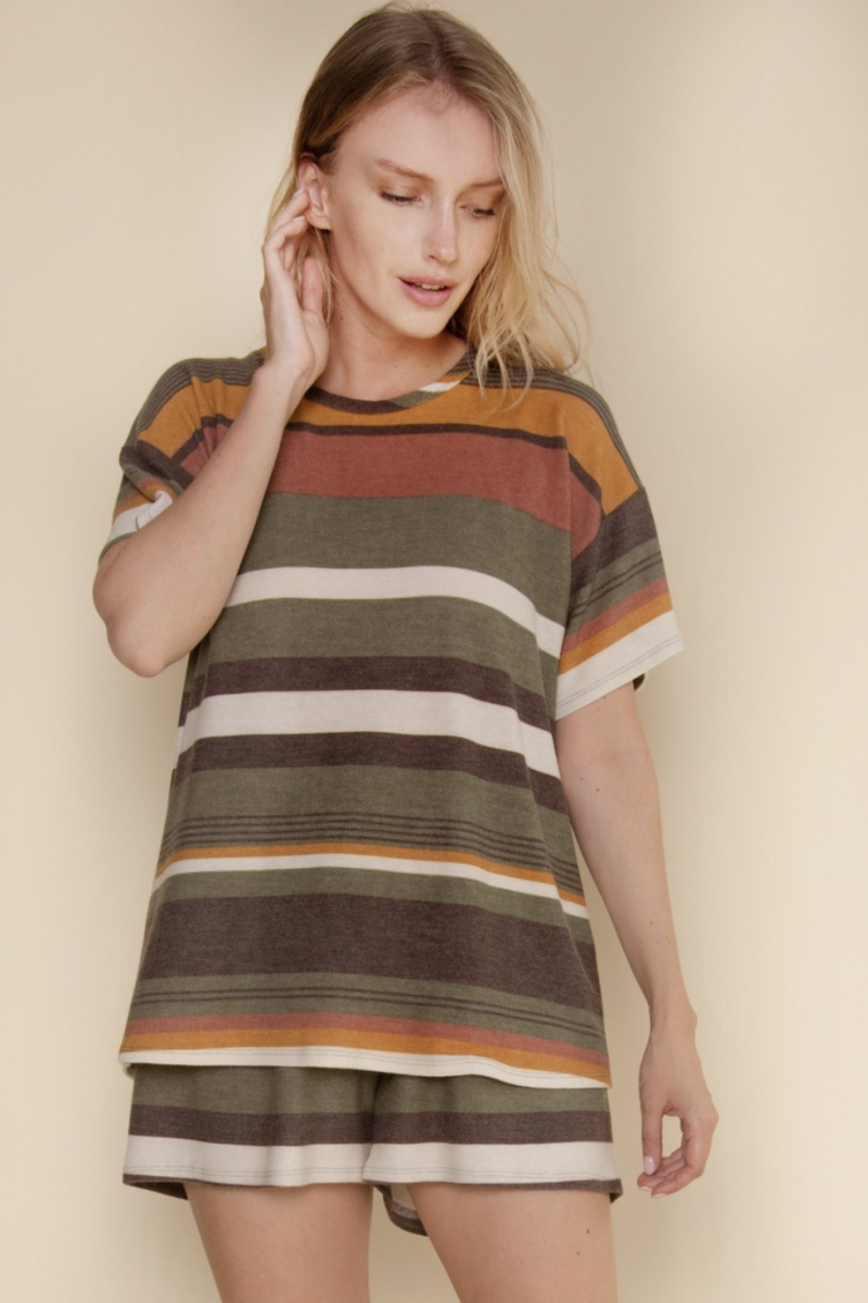 Olive You So Much Loungewear Top
