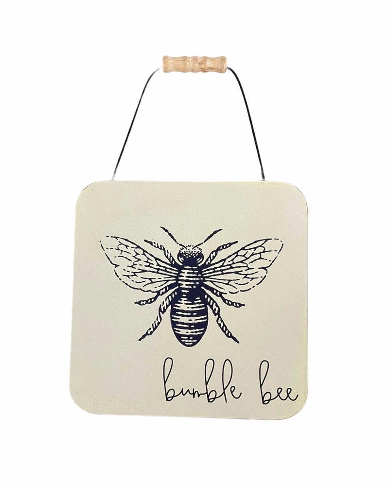 Bumblebee Wood Sign