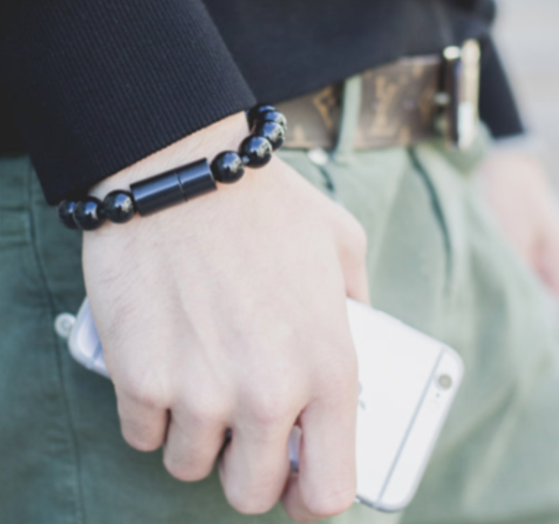Wearable Charging Cord Bracelet