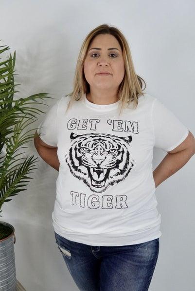 Get Em Tiger Graphic Tee *Final Sale*
