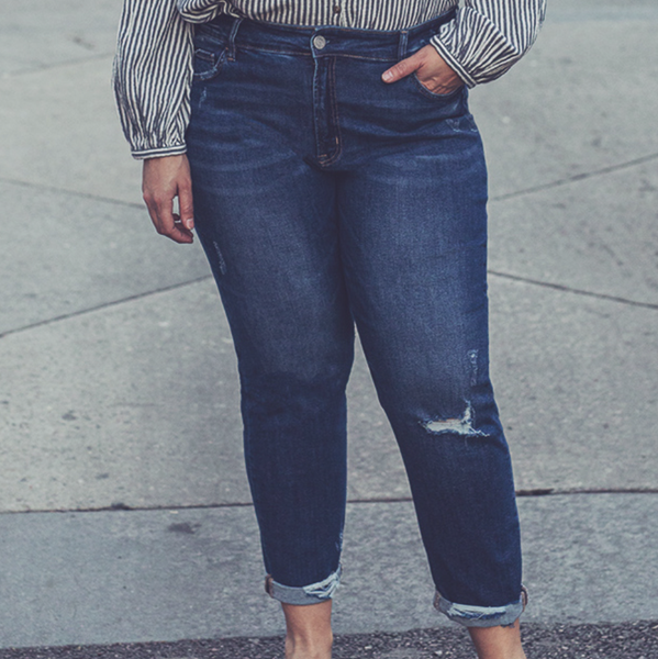 TAKEOVER- Across The Divide Boyfriend Jeans