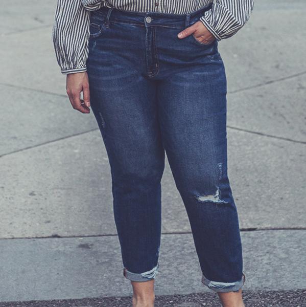 Across The Divide Boyfriend Jeans