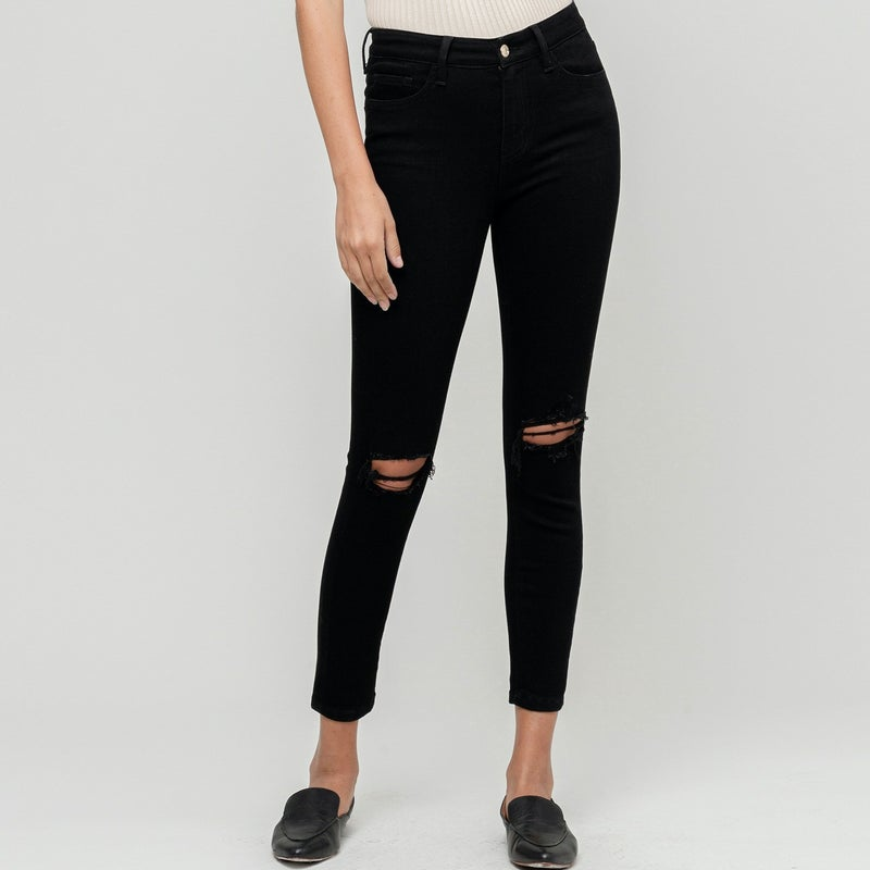 TAKEOVER- Spice It Up Cropped Jeans