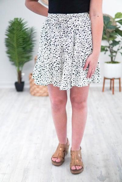 Spot A Dot Mini Skirt