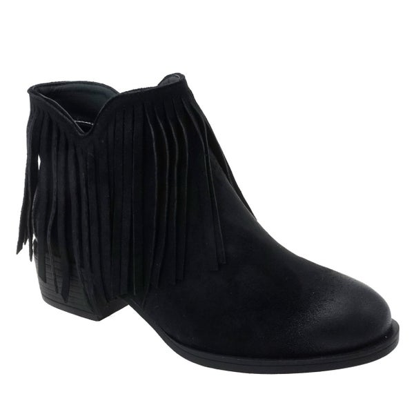 Fabulous Fringed Booties