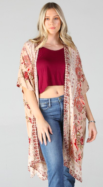 Boho Summertime Kimono