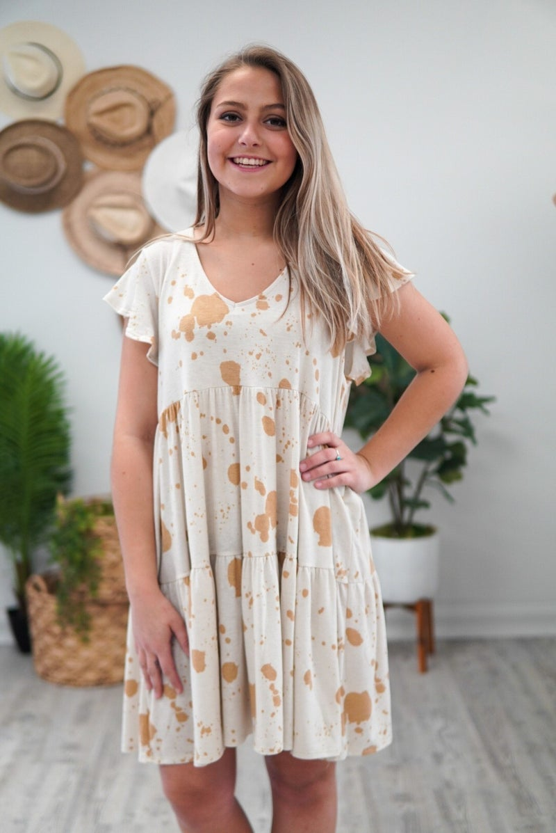 Ink Splat Dress