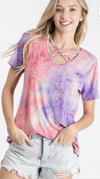The Lucy Tie Dye Top