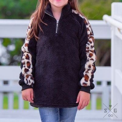 Girls' Dropping Hints Pullover