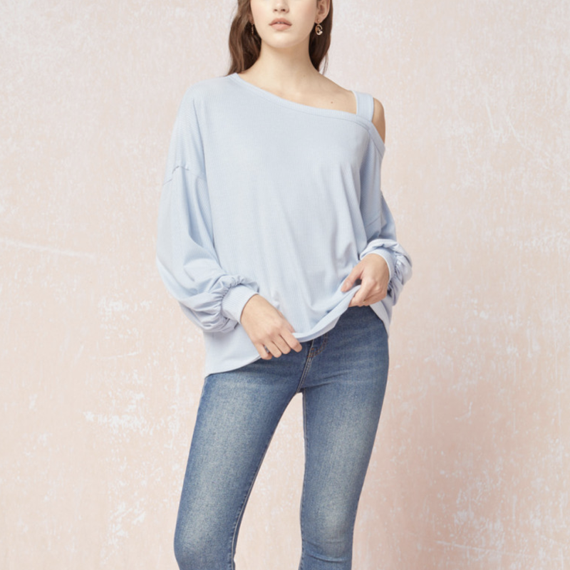 Make It Strappy Long Sleeve Top