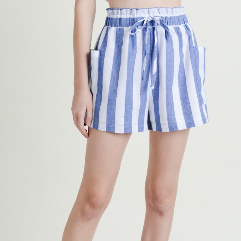 Beach Ready Striped Shorts