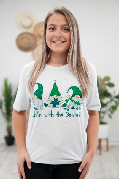 Chillin' With The Gnomies Graphic Tee