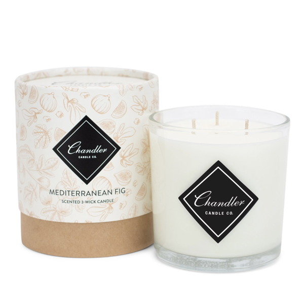 Chandler Candle Co Mediterranean Fig 3-Wick Candle