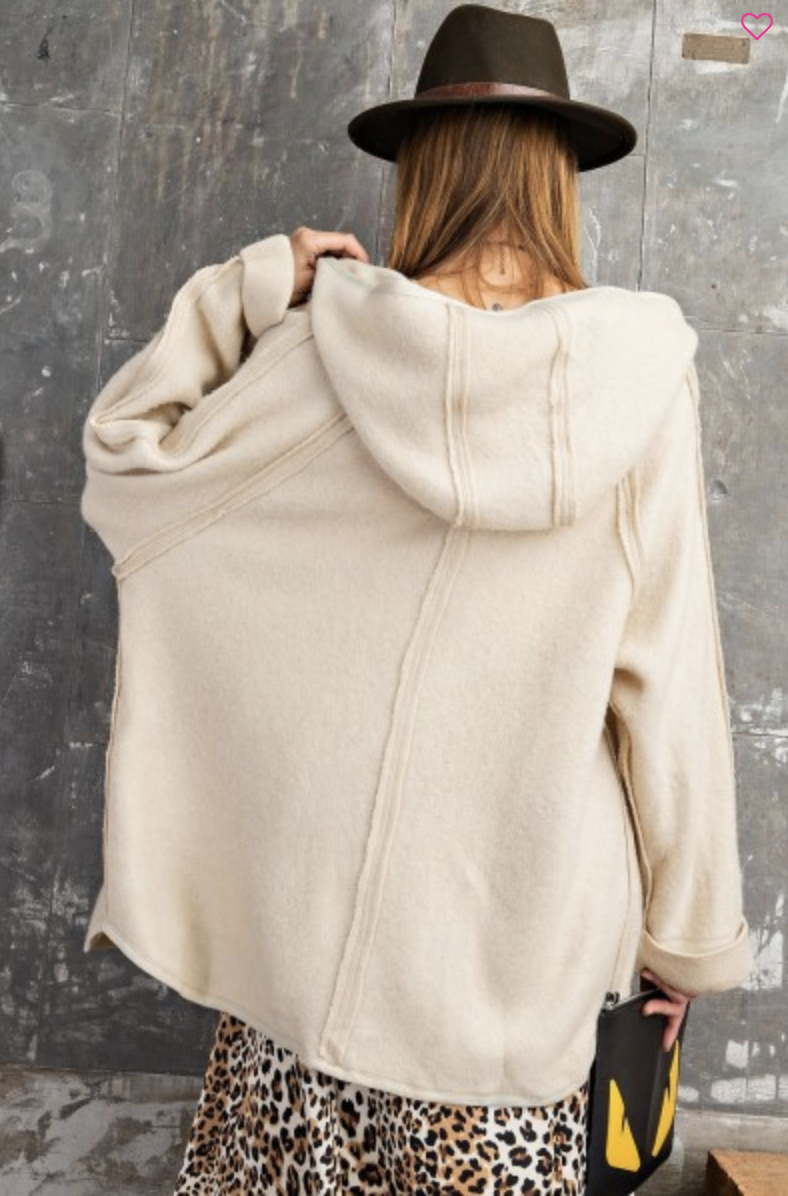Touch Of Heaven Hooded Cardigan