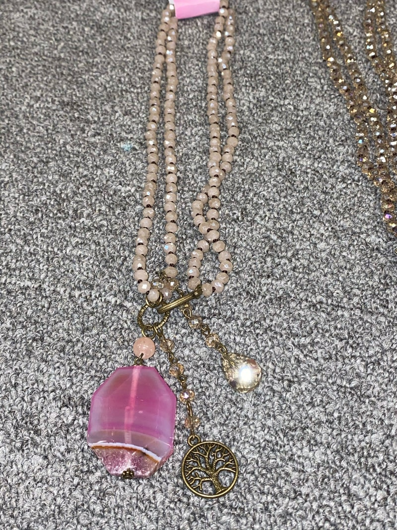 Peace & Happiness Necklace